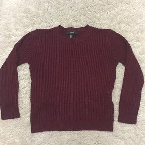 💘Forever21💘maroon sweater
